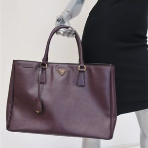 Prada Saffiano Lux Large Tote Bag